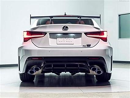 Amazon Com Lexus Rc F Track Edition 2020 Poster 18 X 24