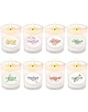 CREASHINE Scented Candles Gift Set of 6, 36 Oz Pure Natural Soy Wax Aromatherapy Candles, Outdoor Indoor Use for Relaxing and Bath Yoga Birthday Party Christmas - 6 Fragrances