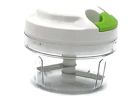 Picador manual de alimentos, compacto y potente, picador de ...