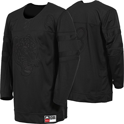 NIKE Sb Top BA Jersey Tour Black/Black Medium - Nike Camp Shirt