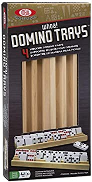 Ideal Solid Wood Domino Trays (Renewed)