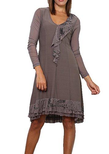 Cicero Damen Fantasie Kleid Cicero Damen Grau Fantasie 7xxE4