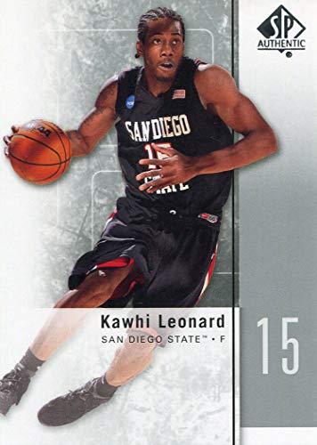 Kawhi Leonard 2011-12 Upper Deck SP Rookie Card