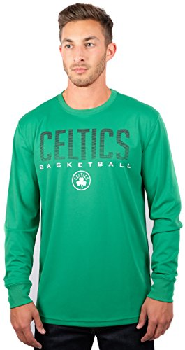 UNK NBA Men's T-Shirt Athletic Quick Dry Long Sleeve Tee Shirt, Team Color – DiZiSports Store