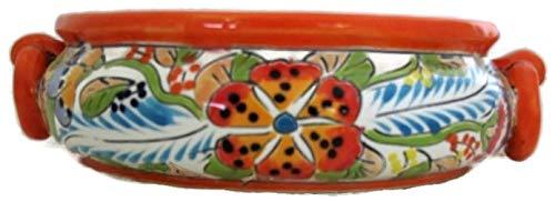 Talavera Succulent Bowl F Orange