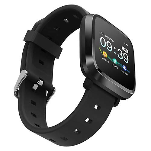 Digibuff Smart Watch Waterproof Fitness Tracker Band 1.3 inches Health Band (Black) Price & Reviews