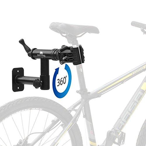 Bikehand Bicycle Bike Wall Mount Repair Rack ()