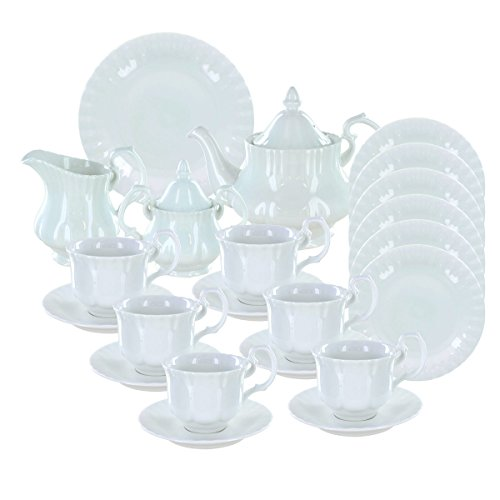Deluxe Porcelain Tea Set - Avery Deluxe Porcelain Tea Set