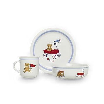 FAO Schwarz Toy Box Baby Dish Set  sc 1 st  Amazon.com & Amazon.com : FAO Schwarz Toy Box Baby Dish Set : Baby Dinnerware ...