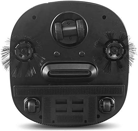 Robot Puissance D'aspirationde 1200 Pa Aspirateur Robot pour Tapis et Sols Durs Capteurs de Poussière Dirt Detect Système deÉtapes pour Poils d\'animaux,Tapis et Sols Durs