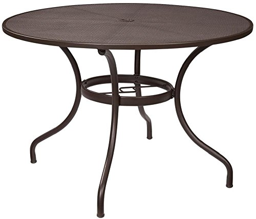 40 inch round dining table 48 inch round dining table metal mesh 40 inch amazoncom tables