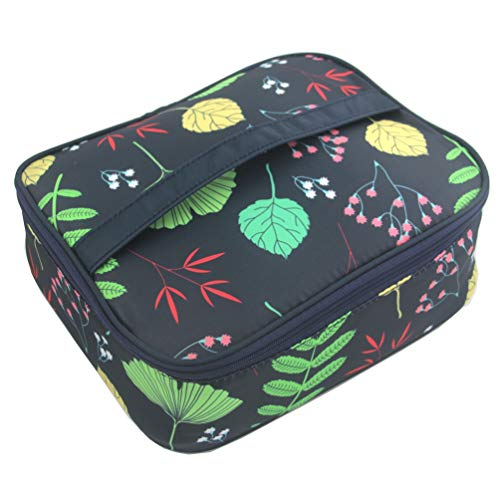 Ac.y.c Multifunction Cosmetic Bag Toiletry Bag Portable Makeup Pouch Waterproof Travel Organizer Bag for Women