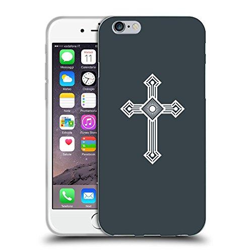 GoGoMobile Coque de Protection TPU Silicone Case pour // Q09430606 Croix chrétienne 53 Arsenic // Apple iPhone 7