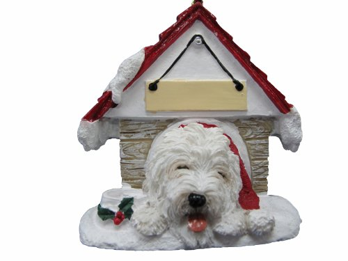 - Old English Sheepdog Dog Doghouse