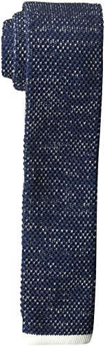 French Connection Men's Toby Tip Tie, Marine Blue, O/S