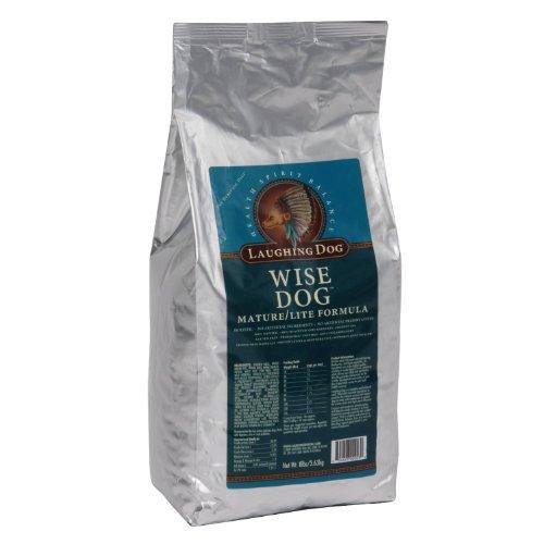 Laughing Dog Wise Dog Senior/Lite Formula, 16-Pound Bag, My Pet Supplies