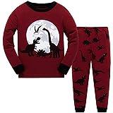 Boys Pajamas Set Kids Cotton Pyjama Long Sleepsuit Cartoon Nightwear Printed Pjs