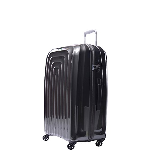 lojel-wave-polycarbonate-large-upright-spinner-luggage-grey-one-size