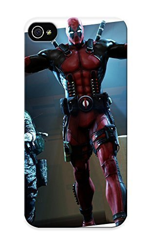 07483ipod touch48555 Anti-scratch Case Cover Honeyhoney Protective Heroes Comics Deadpool Hero Warrior Case For Iphone ipod touch4 by kobestar