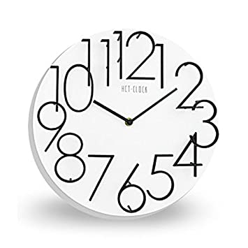 Shuangklei Reloj Digital 3D Simple Moda Regalos Venta,Blanco: Amazon.es: Hogar