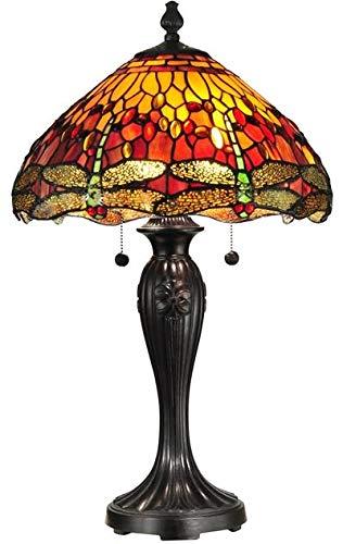 Dale Tiffany Dragonfly Lamp - 3