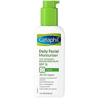 Cetaphil Daily Facial Moisturizer SPF 15 4 oz (Pack of 18)