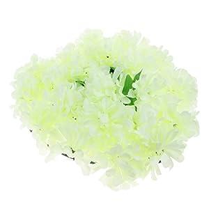 Fityle Simulation Chrysanthemum Funeral Memorial Cemetery Tombstone Heart Flower Wreath 17