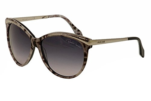 Roberto Cavalli Sunglasses - RC 670S Giunchiglia / Frame: Gray Animal Print Lens: Gray Gradient ()