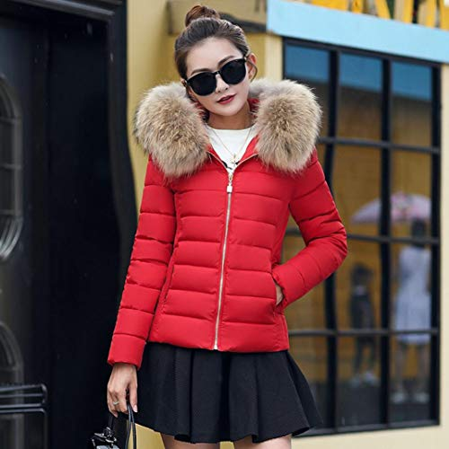 Femmes Veste Mode Famille Manteau Mincir Hiver pour Chaud Outwear Rose g7xwqAT