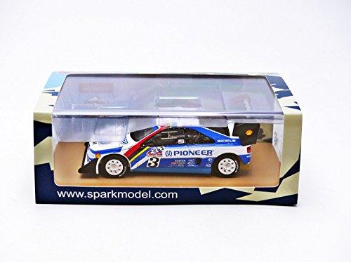 Spark Modelo SPP006 Peugeot 405 Turbo 16 Nº 3 en la 2ª LUCIOS 1988 J.KANKKUNEN 1: 4: Amazon.es: Juguetes y juegos
