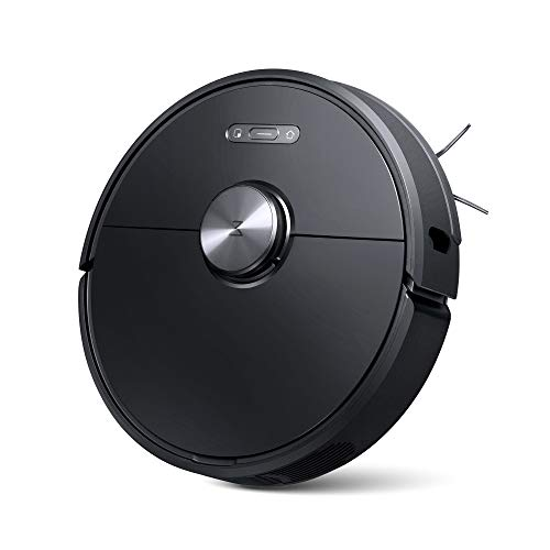 Roborock S6 Robot Vacuum, Robotic Vacuum Cleaner and Mop with Adaptive Routing, Selective Room Cleaning, Super Strong Suction, and Extra Long Battery Life
