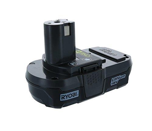 Ryobi P102 Genuine OEM 18V One+ Lithium Ion Compact Battery for Ryobi Cordless Power (18v Lithium Ion Compact)