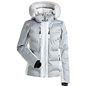 NILS Womens Genevieve Real Fur Jacket