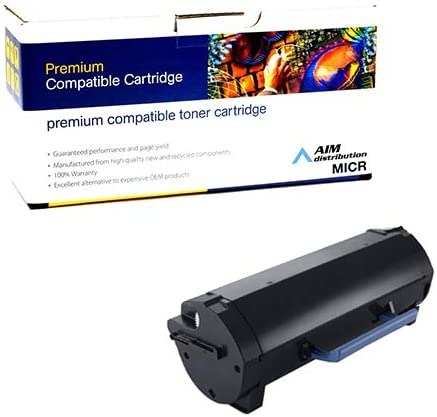 AIM Compatible MICR Replacement for Dell S5830DN Black High Yield Toner Cartridge - Generic 25000 Page Yield HYS5830