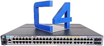 Amazon Com Hp 2920 48g Poe 740 W Switch Switch 48 Ports Managed Rac J9836a Aba Office Products