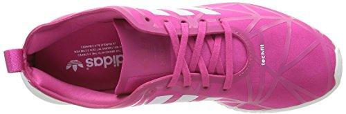 adidas Zx Flux Smooth - Zapatillas Mujer Rosa (Eqt Pink/Eqt Pink/Core White)