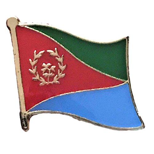 "Backwoods Barnaby Eritrea Flag Lapel Pin (0.75"" x 0.75"")"