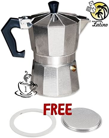 Coffee Maker Cafetera Espresso Latte Coffeemaker Expresso Mini 1 Cup Brewer Pot