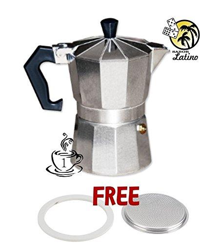 Eléctrica de café cafetera espresso café cafetera expresso Mini 1 ...