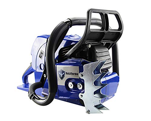 Famertec 92cc Holzfforma Blue Thunder G660 Gasoline Chain Saw Power Head Without Guide Bar and Chain All Parts are Compatible WT MS660 066 Chainsaw