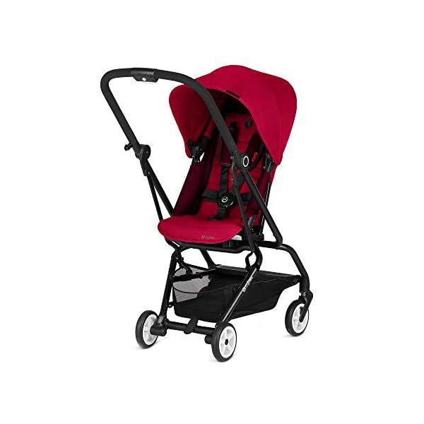 CYBEX Eezy S Twist Stroller, SCF – Racing Red