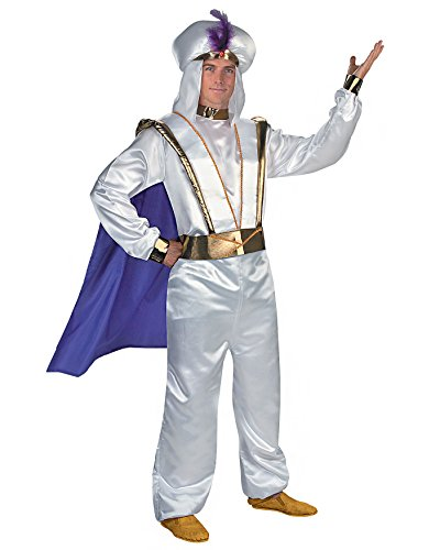 Cartoon Character Aladdin Prestige Adult Disney Movie Character Couples Costume Sizes: One Size
