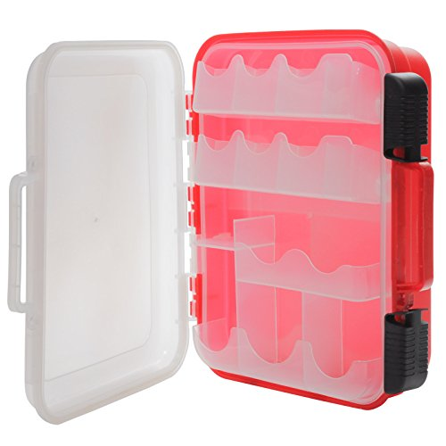 Empty First Aid Box Plastic With Dividers & Bins