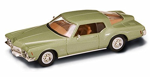 Road Signature 1971 Buick Riviera GS, Metallic Green 94252 - 1/43 Scale Diecast Model Toy -