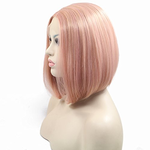 Synthetic Temperature Natural Haircut 14inches product image