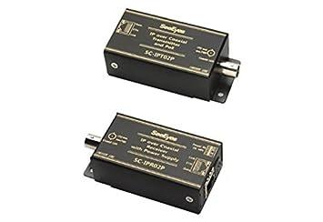 SC de ipc02p, conversor de medios, 1 canal, Ethernet por cable coaxial,