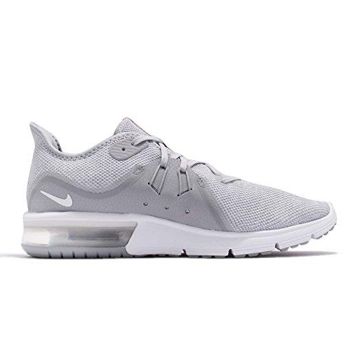 Nike Air Max Sequent 3 Löpartröja Wolf Grå / Vit / Ren Platina
