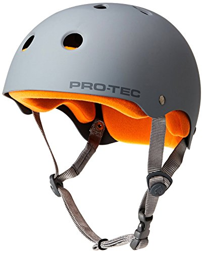 PROTEC Original Classic Skate Helmet, Matte Grey, (Classic Skate Helmet Matte)