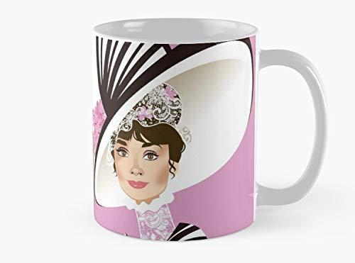 (Eliza at Ascot Mug, Standard Mug Handmade Coffee Tea Mug - Unique Gifting)