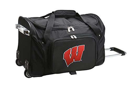 NCAA Wisconsin Badgers Wheeled Duffle (Badger Airline)